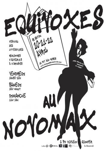 Poésie, littérature, Pot aux roses, Novomax, Equivoxes, Quimper, ludivine issambourg, antiloops
